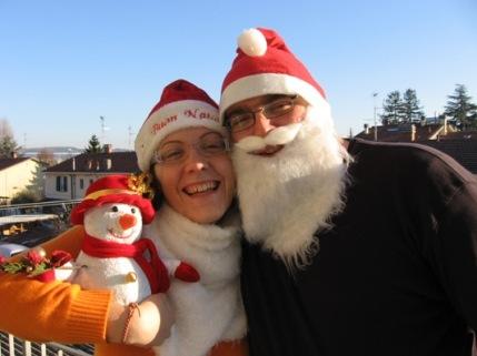 Babbi Natale intrasferta!